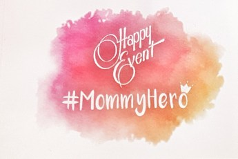 Happy Event logo #MommyHero