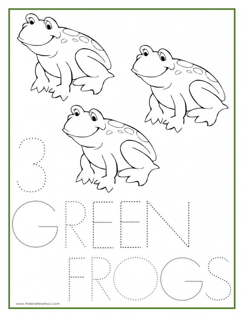 numbers coloring sheets (1  5)