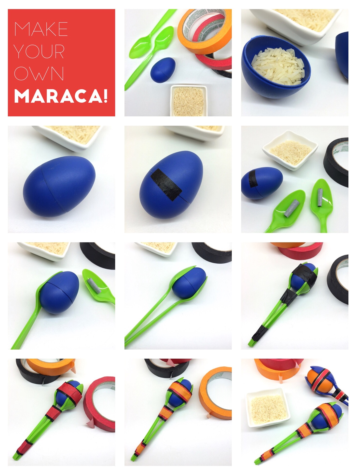 Craft Activity For Kids Make Your Own Maraca
