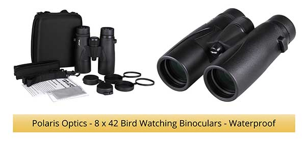 Polaris Optics Bird Watching Binoculars