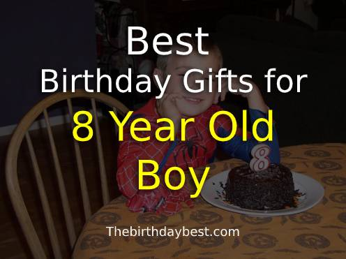 Brilliant Best Birthday Gifts For 8 Year Old Boy Of 2020 Top Ideas Funny Birthday Cards Online Barepcheapnameinfo