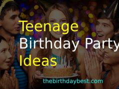 Teenage Birthday Party Ideas