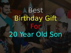 Birthday Gift for 20-Year-Old Son