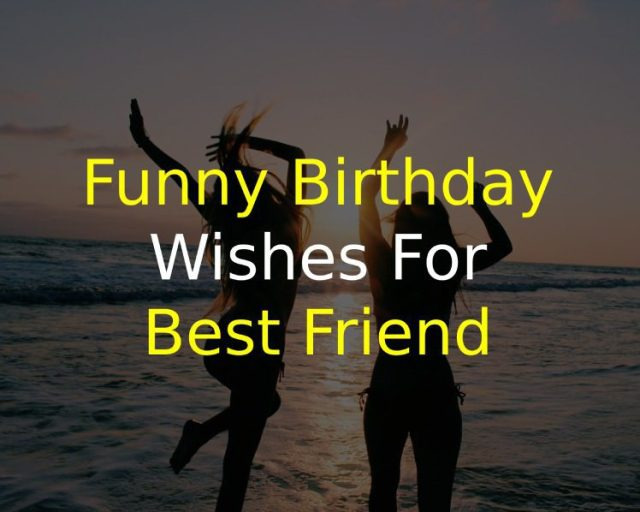 100 Crazy Funny Birthday Wishes For Best Friend Of 2020