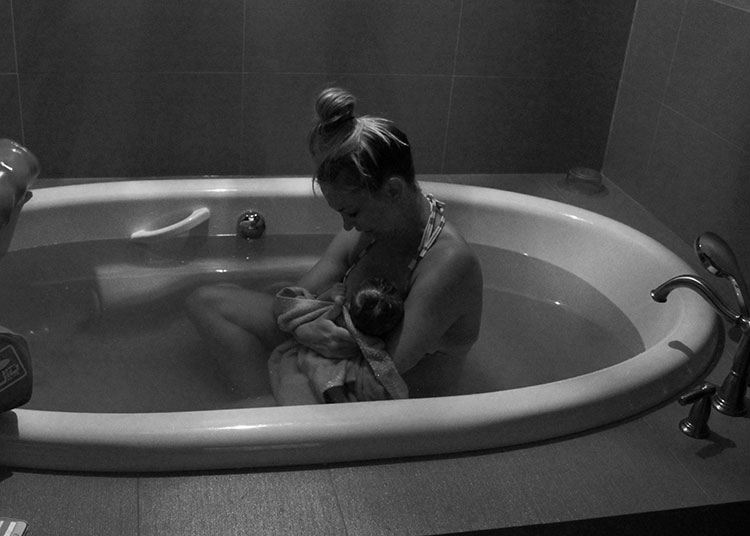Paige Rangel's Birth Center Birth Story