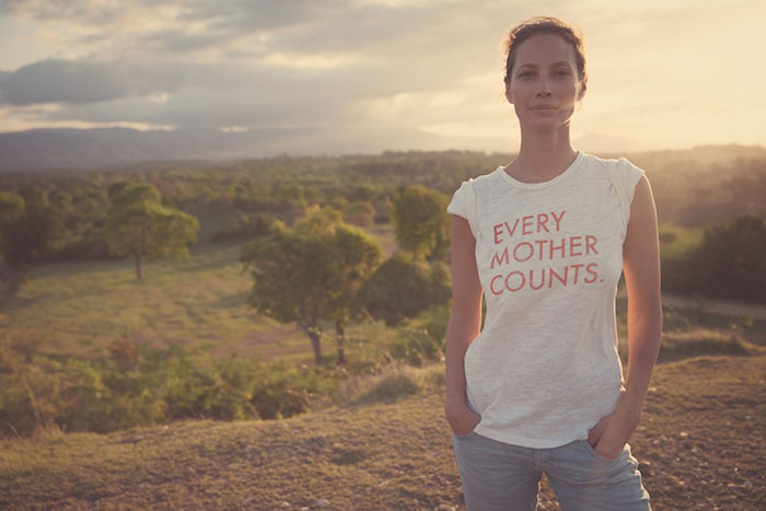 Christy Turlington Shares her Birth Stories & Passion for Maternal Health