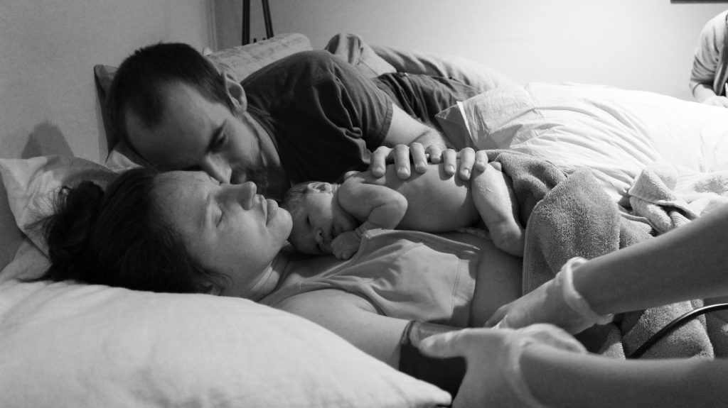homebirth story with photos
