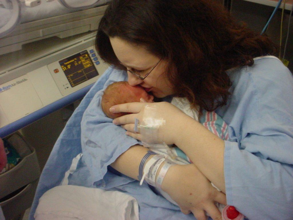 natalie twiniversity birth story