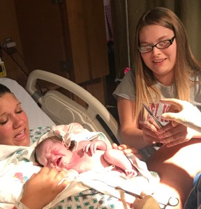 lesbian moms birth story