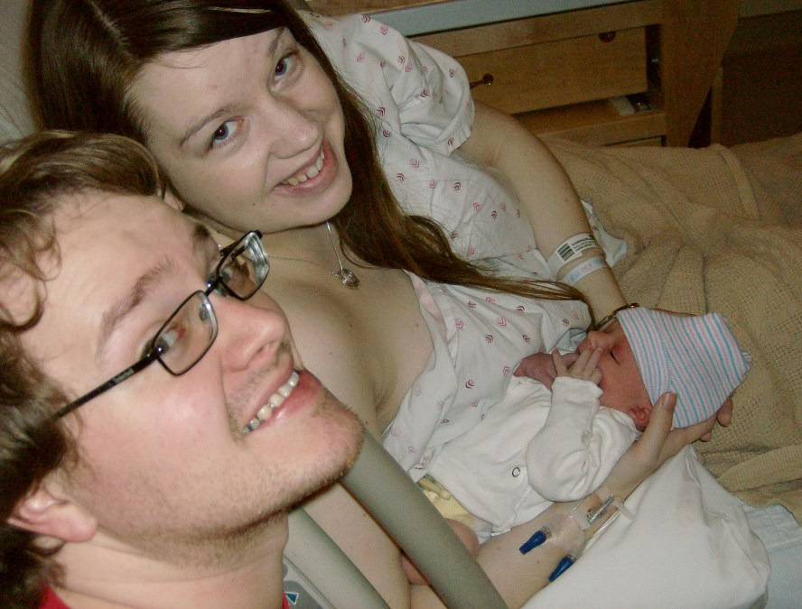 Four Hospital Births: One with an Epidural, Three Unmedicated