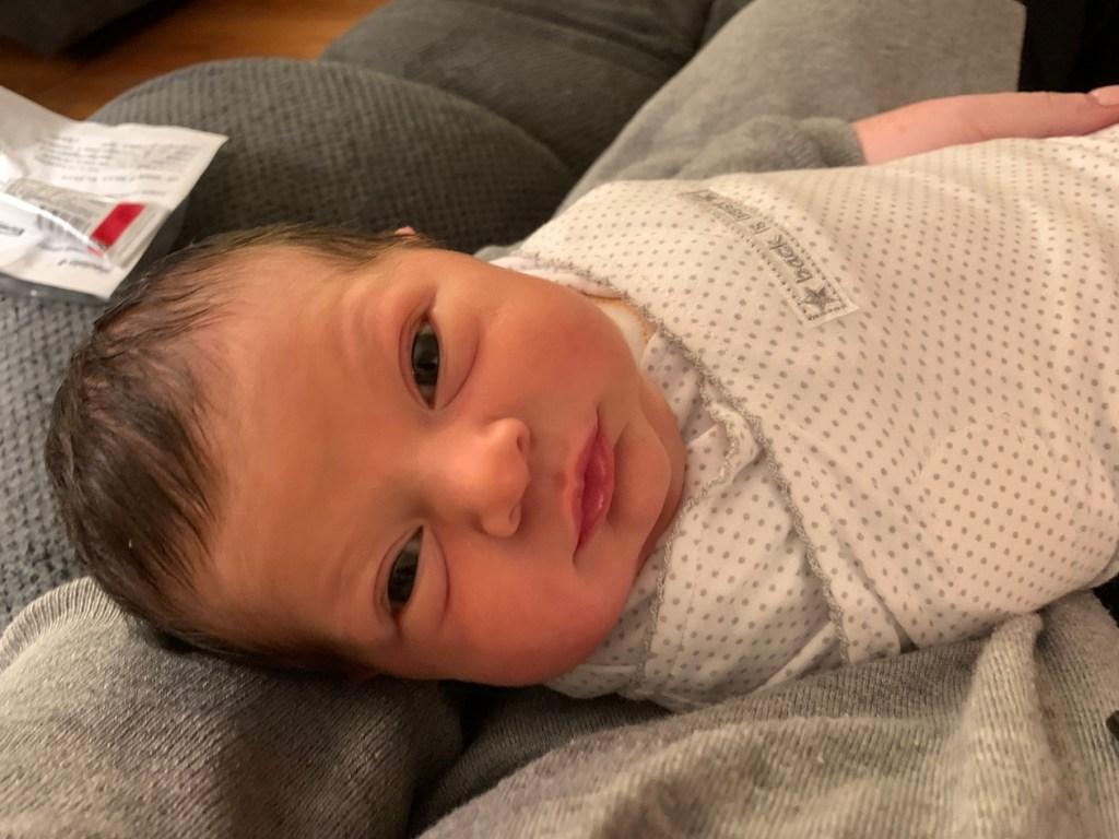 baby born coronavirus