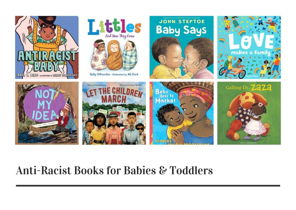 Anti-Racist Books for Babies & Toddlers