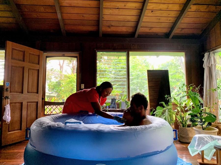 Homebirth in Hawaii Birth Story