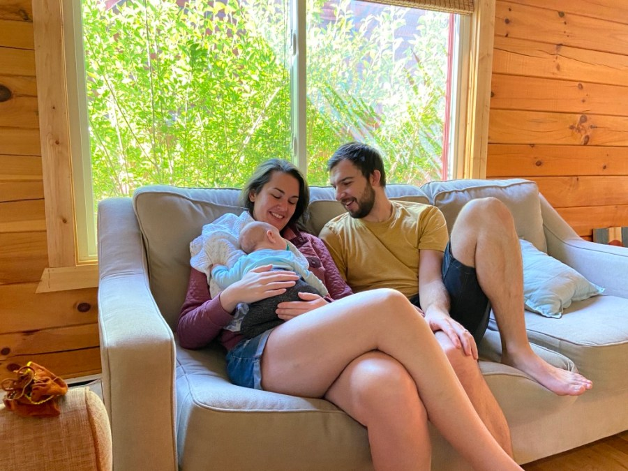Unmedicated Hospital Birth During Covid + Postpartum Brain Surgery