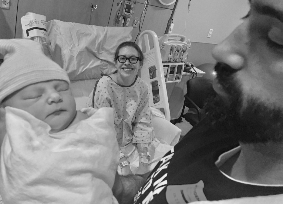 Epidural Free Induction and Group B Strep Birth Story