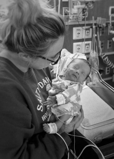 PPROM Medevac Birth and NICU Story in Alaska
