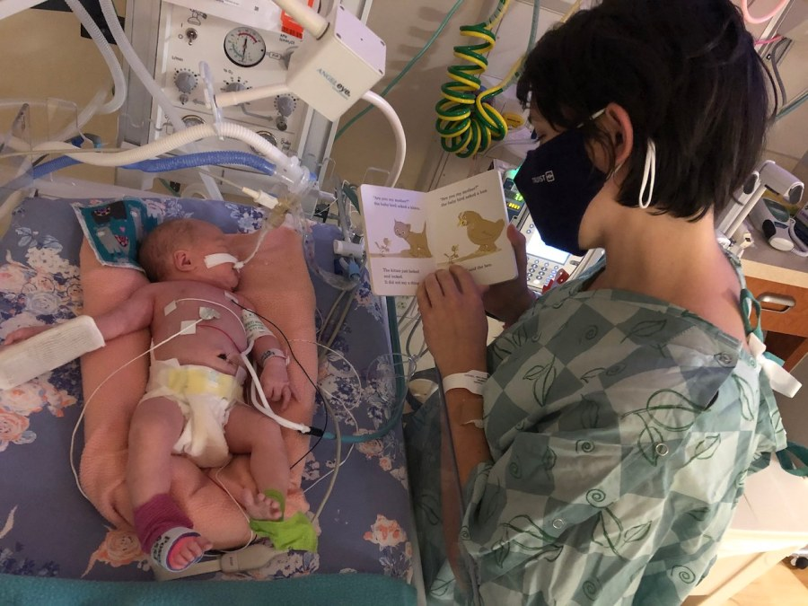 Emergency Cesarean after Reduction in Fetal Movement + NICU Stay