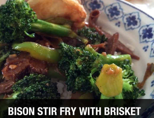 Bison Stir Fry Recipe