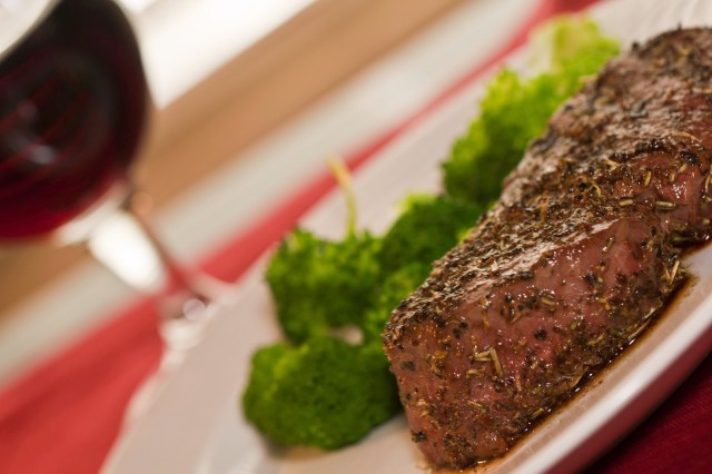 Herb Crusted Filet Mignon