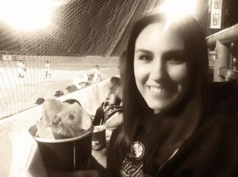 Snacking in the Stands