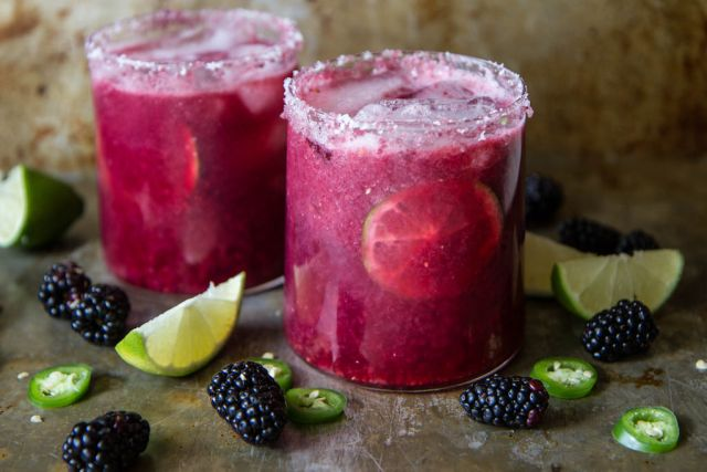 Blackberry-Jalapeno-Margarita