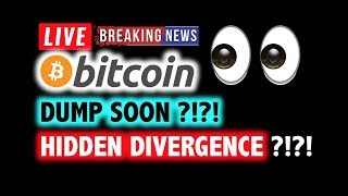 mwpXJC - BITCOIN 🚨HIDDEN Divergence = DUMP SOON? 🚨❗️LIVE Crypto Analysis TA & BTC Cryptocurrency Price News