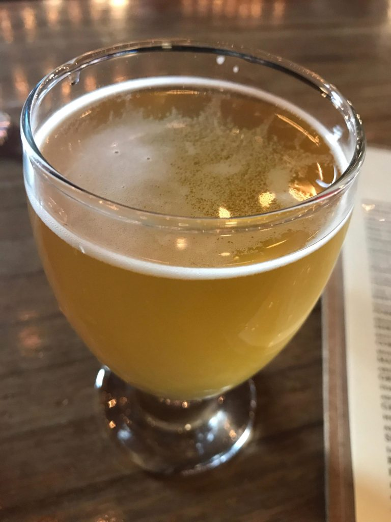 That's the Way She Goes, Eh? from Batch Brewing Company in Corktown Detroit, MI. Light with a nice sour note