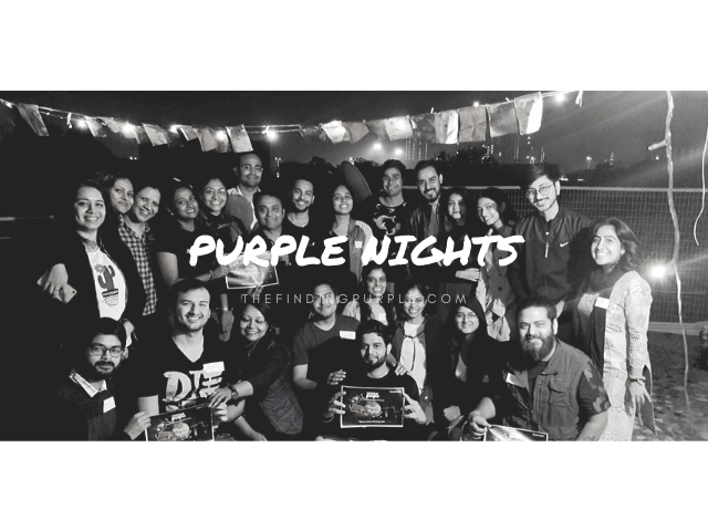 PURPLE NIGHTS, FINDING PURPLE