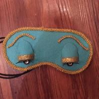 Finished eye mask.