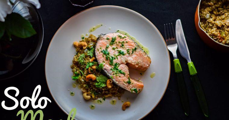 Salmon Confit- Solo Meal