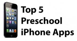 top 5 preschool iphone apps