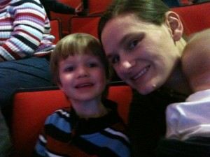 Jude and Mama at the Circus