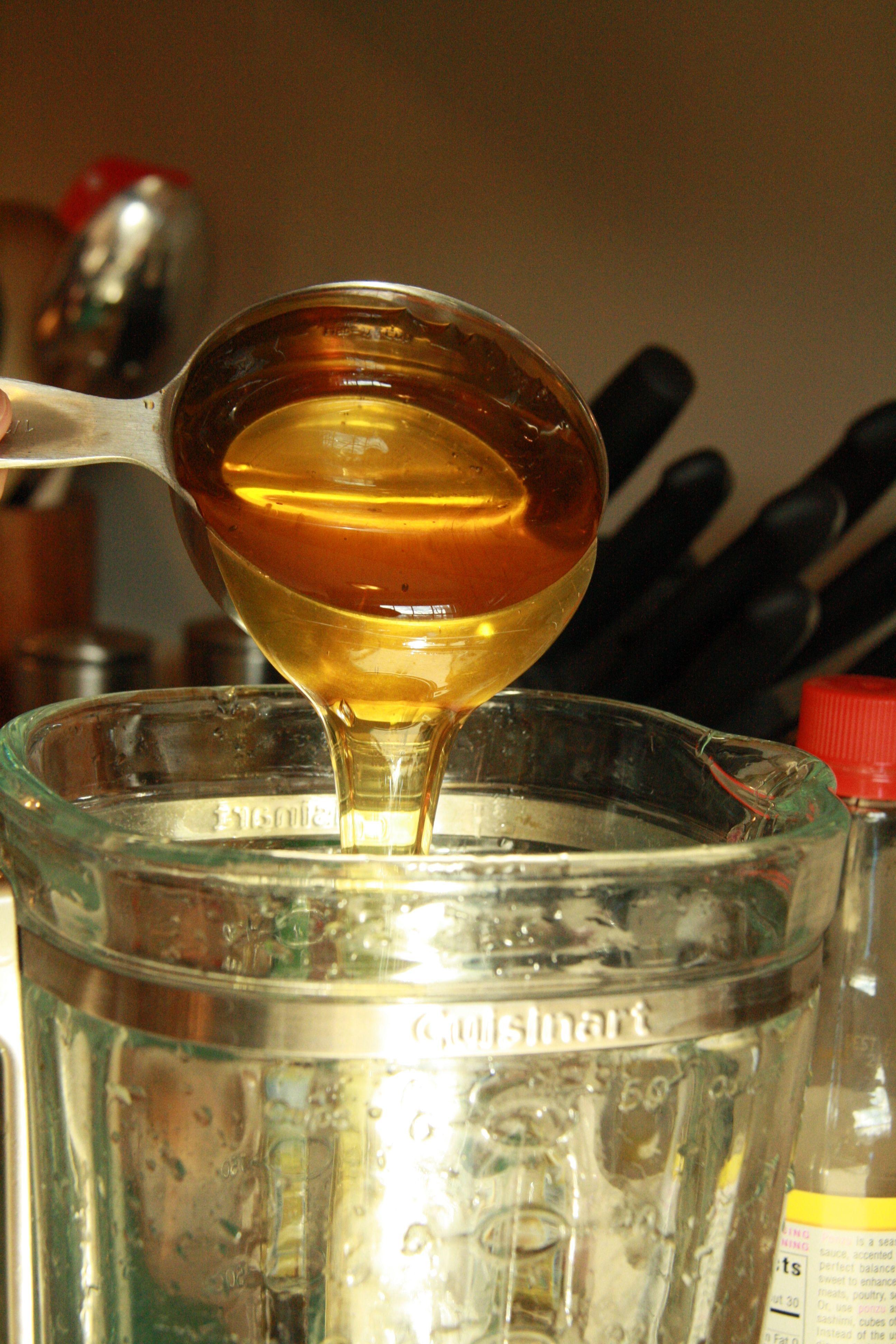 honey ginger wings sauce
