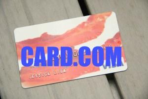 bacon debit card