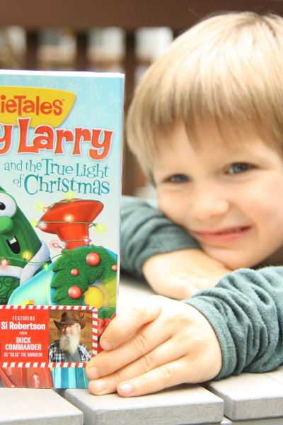 Veggietale Merry Larry Christmas DVD