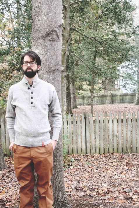 steam horse wool sweater and pants