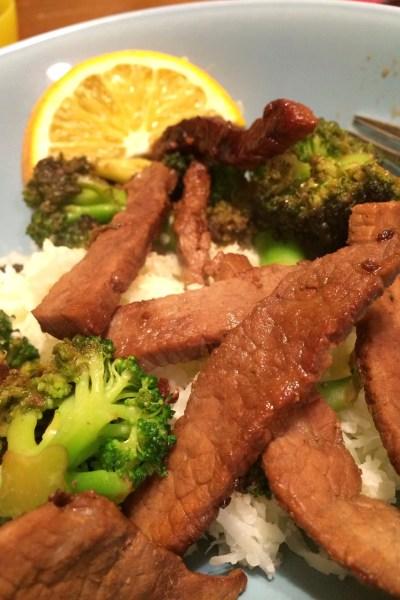 Paleo Beef and Broccoli Stir Fry