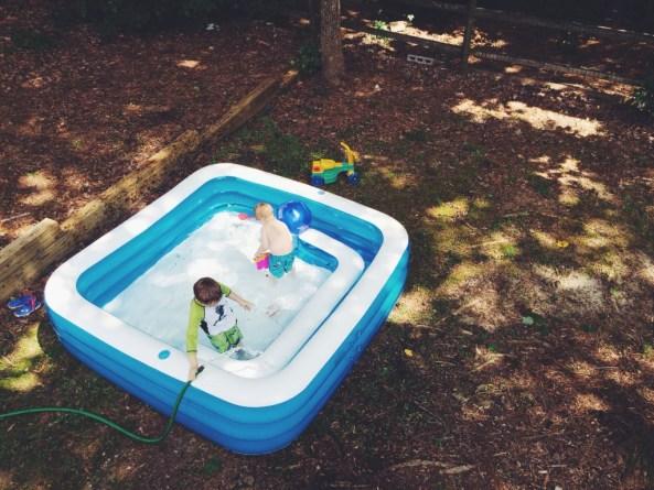 Backyard Ocean Square Pool