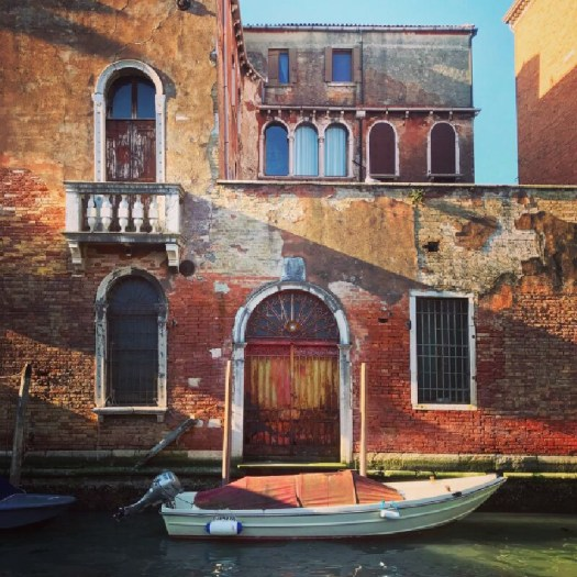 Photo of a boat in Venice