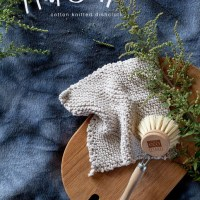 MAKE IT // cotton knitted dishcloth