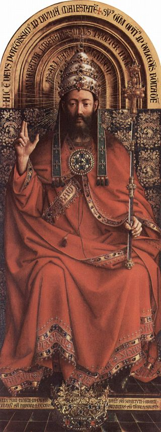 Christ The King, Van Eyck