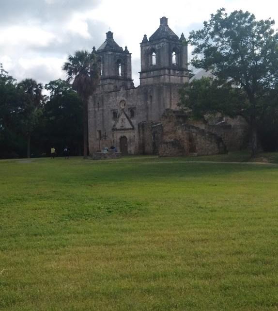 Visited Mission Concepión Here in San Antonio