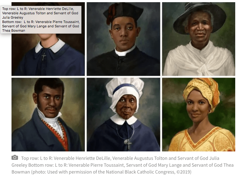 """ARTICLE SHARE: """"Black Catholics See Continued Progress on the Road to Canonization for 'Saintly Six'"""" (National Catholic Register)"""