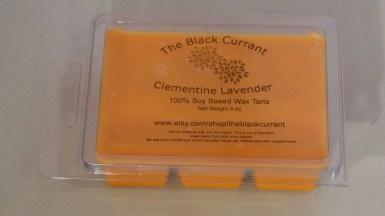 Clementine Lavender Wax Tart