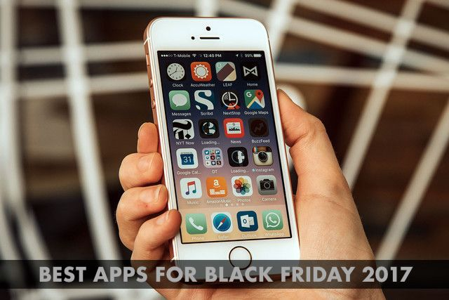 Top 10 Best Apps to help you find deals on Black Friday 2018