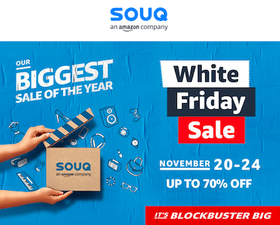 White Friday Sale 2018: When, Where, and Souq Best Deals