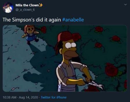 Annabelle meme english 1