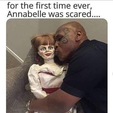 Annabelle meme english 5