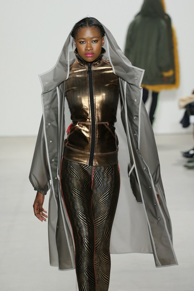 NEW YORK, NY - FEBRUARY 17: A model walks the runway wearing Xuly Bet Fall 2016 during New York Fashion Week: The Shows at The Gallery, Skylight at Clarkson Sq on February 17, 2016 in New York City. Neilson Barnard/Getty Images for NYFW: The Shows/AFP