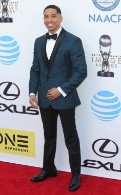 NEIL BROWN JR NAACP IMAGE AWARDS 2016 RED CARPET